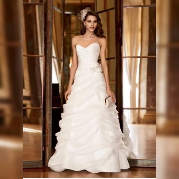 820e4ff5b53b Galina Signature Dresses | Strapless Wedding Dress Xs Swg339 | Poshmark